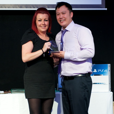 O2 – Love What You Do Award - Phil Lai