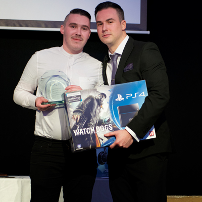 Sales Person of the Year - Jamie Gibbs