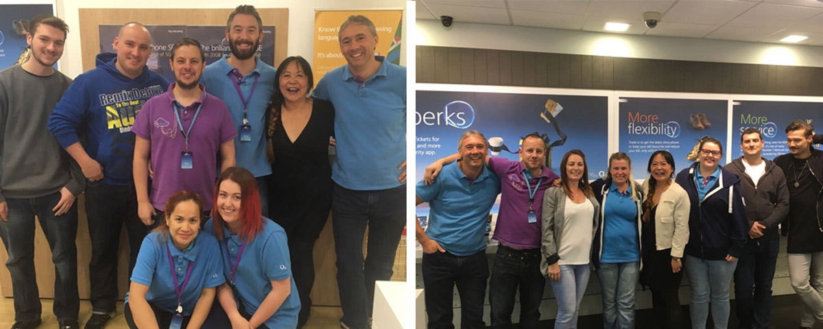 O2 Morpeth and O2 Wallsend new Talk Direct Stores