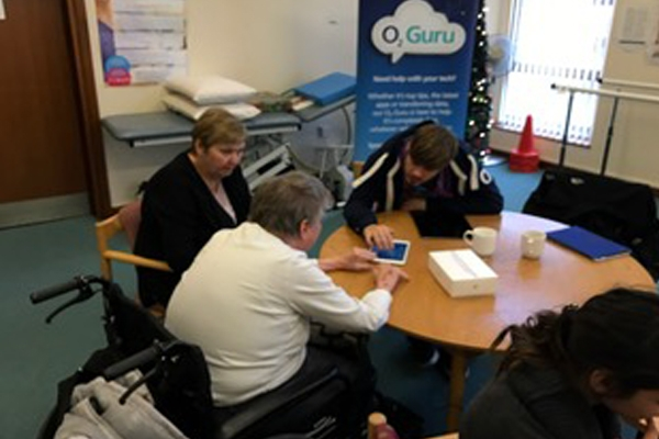 Project iCare working with partners Sheffield Royal Society for the Blind