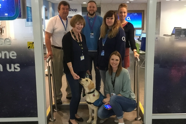 Supporting the Guide Dogs Charity in Leeds
