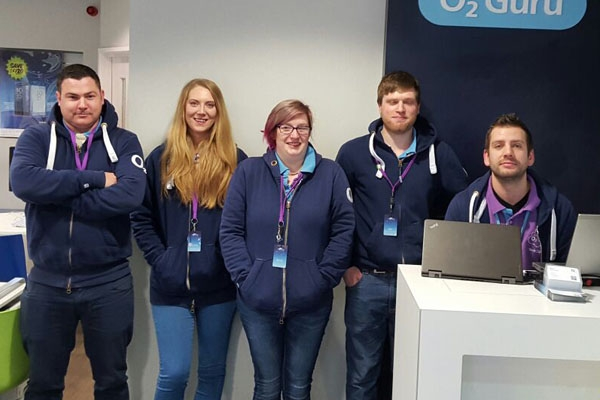 O2 store in Skipton provide excellent customer service